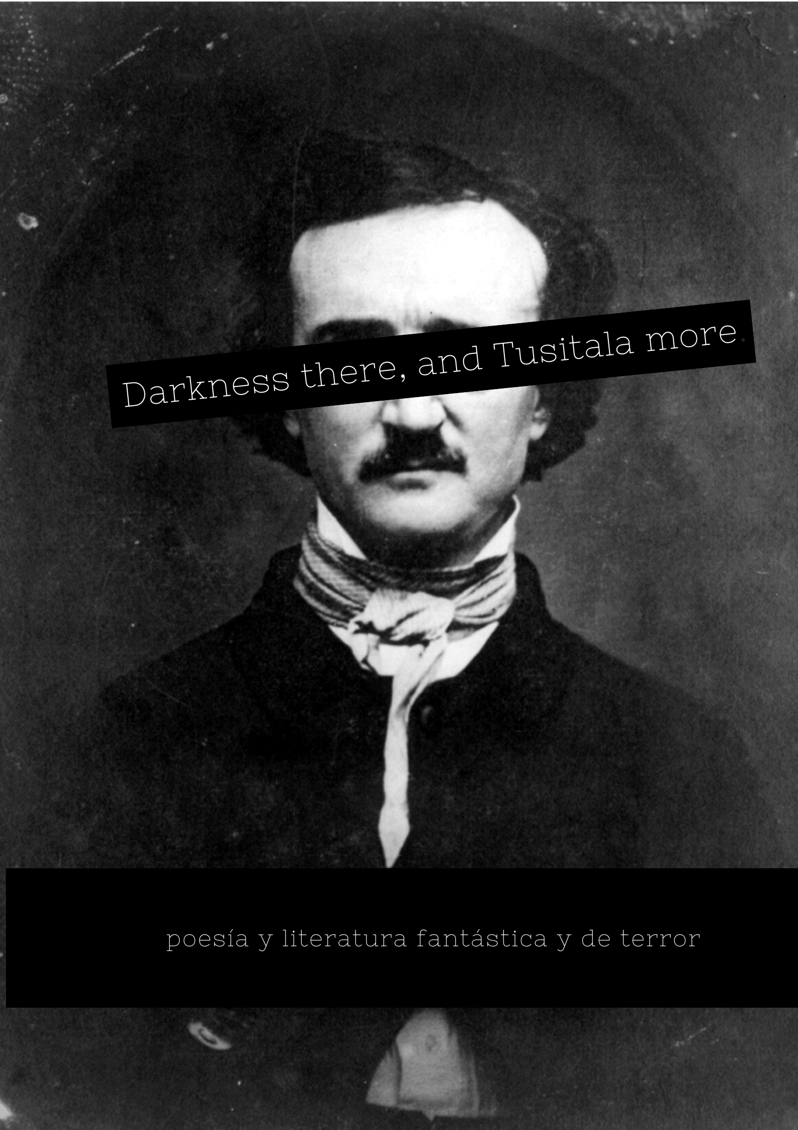 Microfestival de poesía y literatura de terror.